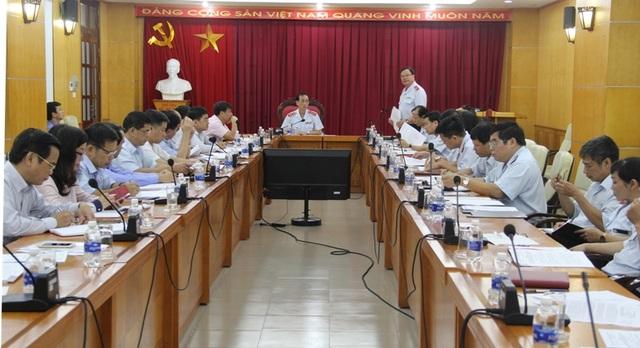 Thanh tra Chính phủ công bố quyết định thanh tra với sự có mặt của đại diện các bộ ngành, địa phương liên quan (Ảnh: TTCP).