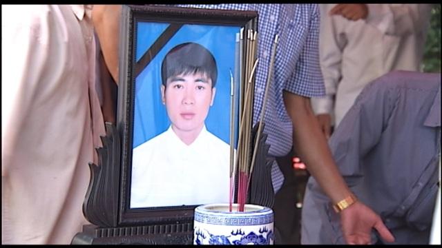 Nạn nhân Đào Sỹ Hùng mới 30 tuổi (ảnh: Nguyễn Duy)