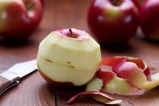 Vỏ táo có thể ngừa ung thư.