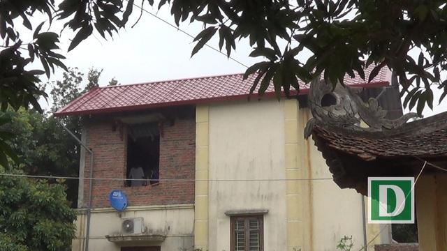 Hiện trạng công trình nhà bà Phạm Thị Kim Phương.
