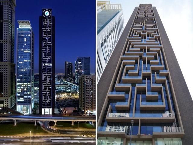 """Dubai luôn là một thành phố tạo nên nhiều sự kinh ngạc với thế giới. Tòa tháp mang tên """"Mê Cung"""" này là một ví dụ điển hình."""