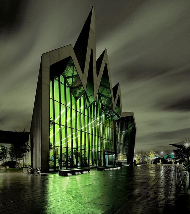 Một bảo tàng tại Vương Quốc Anh có kiến trúc lạ mắt