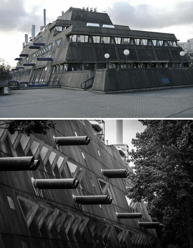 Nếu nghĩ đây là một pháo đài từ thời chiến tranh thế giới thứ hai thì bạn đã nhầm to. Thực chất chức năng của nó khác xa so với vẻ bề ngoài hầm hố. Một viện nghiên cứu về các loại thuốc tại thủ đô Berlin, Đức- Nghe có vẻ khó tin nhưng đó là sự thật.