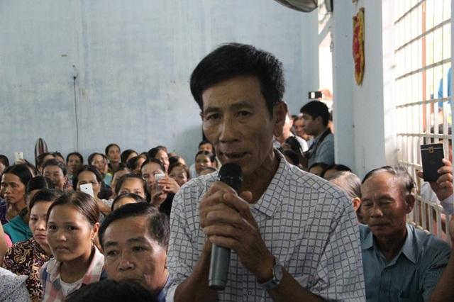 Ông Nguyễn Sắc, người dân xã Hải Thọ