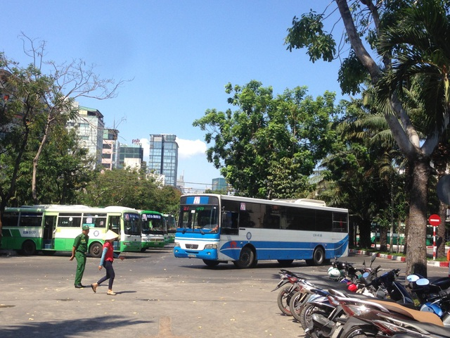 Hiện tại, một phần công viên 23/9 được dành làm nơi đậu xe buýt, ô tô