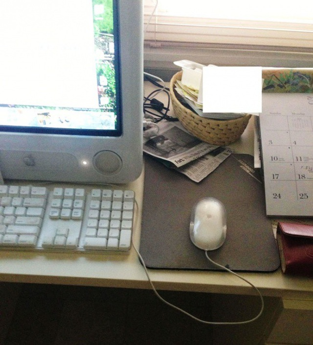 """""""Bà gọi tôi sang nhà để sửa chiếc máy tính vì con trỏ chuột di chuyển ngược với những gì bà thao tác!"""""""