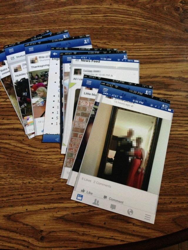 Khi các già gân muốn lưu giữ những bức ảnh của gia đình mình trên mạng xã hội.