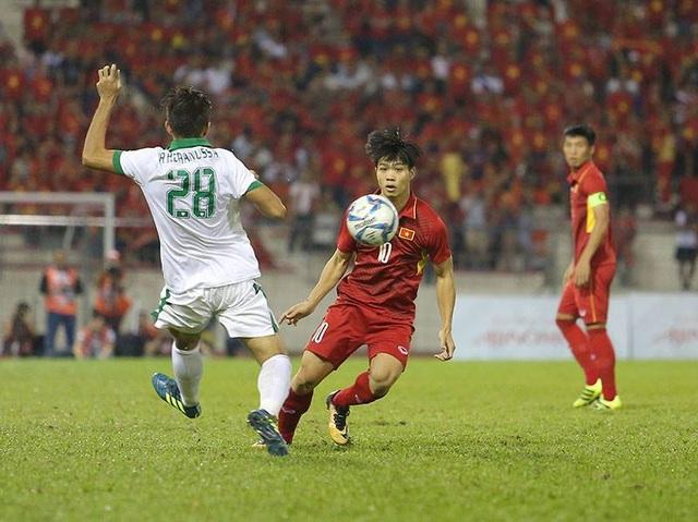 U22 Việt Nam không ghi được bàn thắng nào trong vô số cơ hội tạo được (ảnh: Q.H)