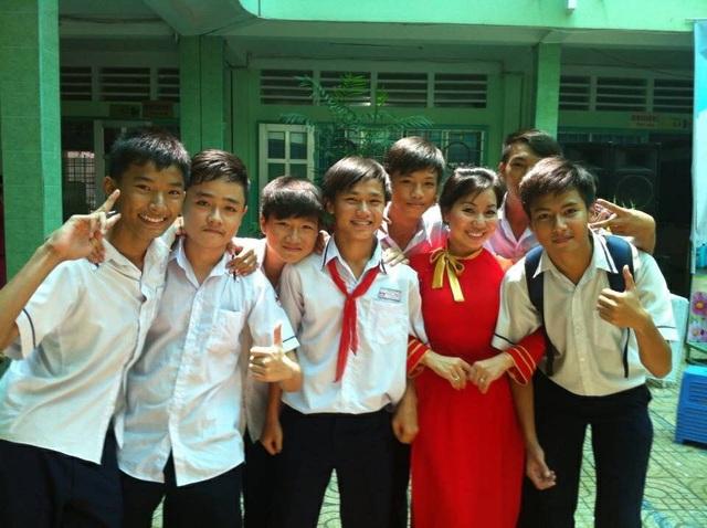 Với cô Quyên, không có học sinh cá biệt mà mỗi em có năng lực, khả năng và cá tính riêng