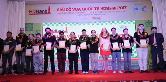 Giải cờ vua quốc tế HDBank 2017 thành công lớn, tiếp tục đưa hình ảnh Việt Nam lan toả ra thế giới