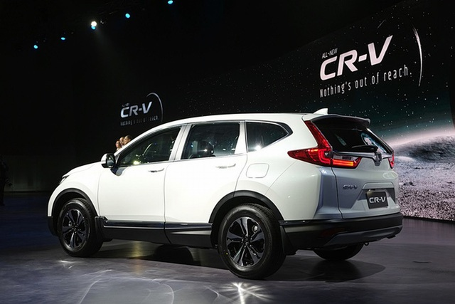 Honda ra mắt CR-V bản 7 chỗ cho thị trường Đông Nam Á - 12