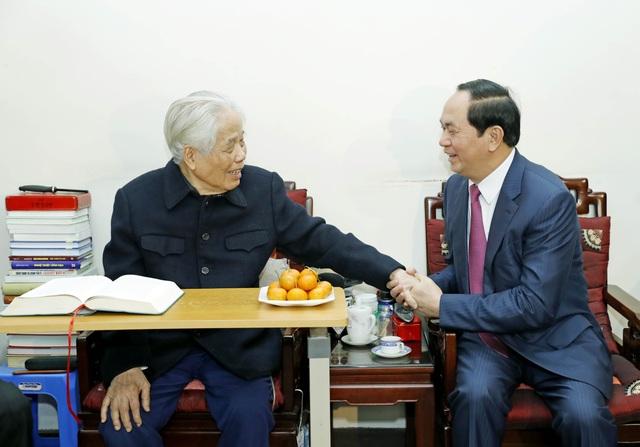 Chủ tịch nước chúc thọ nguyên Tổng Bí thư Đỗ Mười tròn 100 tuổi - 2