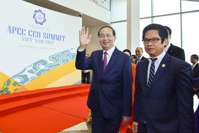 Theo Chủ tịch nước Trần Đại Quang, tương lai của hơn 90 triệu dân Việt Nam gắn kết ngày càng chặt chẽ với khu vực APEC.