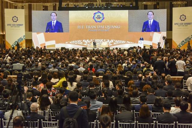 Hội nghị CEO Summit kéo dài trong 3 ngày, từ 8-10/11, tại Trung tâm Hội nghị Ariyana - khách sạn Furama, Đà Nẵng