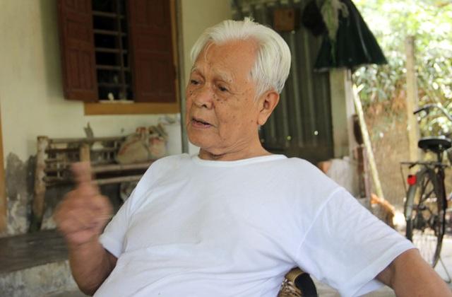Ông Nguyễn Tuấn Nhâm, một trong nhiều đảng viên lão thành ở xã Phù Việt kiến nghị làm sáng tỏ việc truy phong danh hiệu Bí thư huyện bộ Thạch Hà đối với ông Nguyễn Thao.