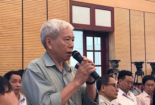 Cử tri Nguyễn Trường Kỳ liên hệ sự việc ở Đồng Tâm để nói về công tác dân vận