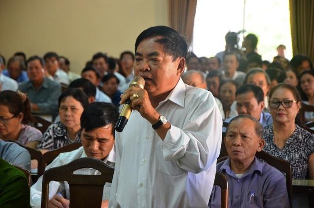 Cử tri Lê Đình Thi (phường Xuân Hà) yêu cầu công khai 137 lô biệt thự trên bán đảo Sơn Trà là của ai để dân biết, dân giám sát.