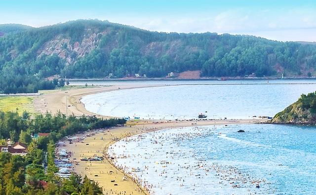 Biển Cửa Lò - điểm hút du khách Lào khi đến Nghệ An (ảnh ngheantourism)