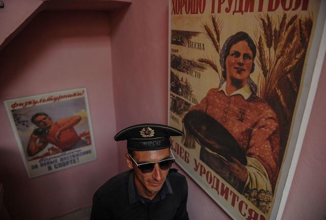 Những biểu ngữ mang dấu ấn Liên Xô xuất hiện tại thủ đô của Cuba.