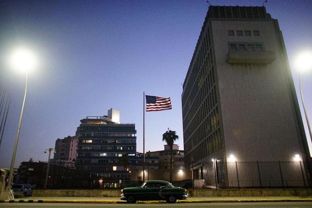 Đại sứ quán Mỹ tại Cuba (Ảnh: Reuters)