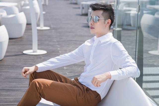 Hot boy Cường Bely nổi tiếng với những bức ảnh giả gái bất ngờ lịch lãm - 4