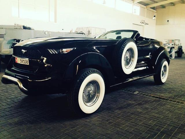 Khi Ford Mustang trở thành xe việt dã - 2
