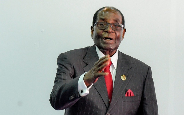 Cựu Tổng thống Zimbabwe Robert Mugabe (Ảnh: AFP)