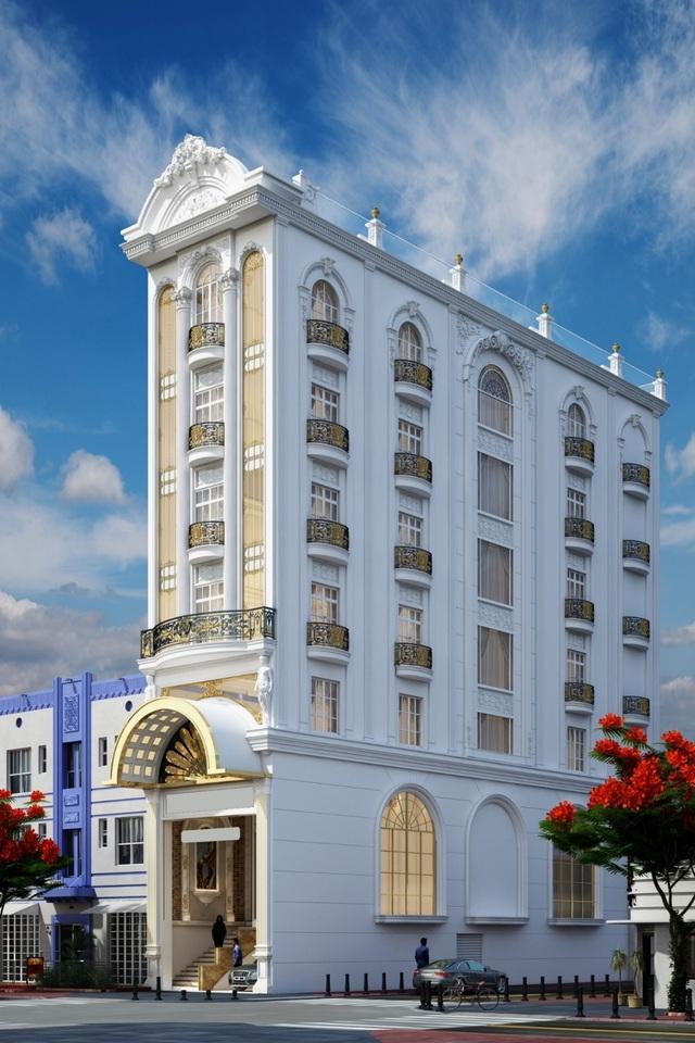 Tòa nhà dát vàng triệu đô số 130 Nguyễn Đức Cảnh
