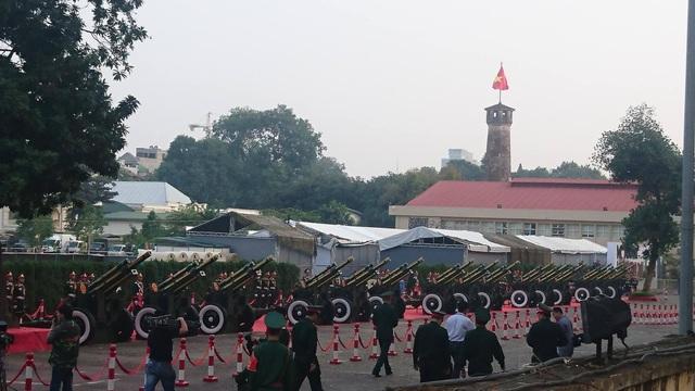 Bắn 21 loạt đại bác chào mừng Chủ tịch Trung Quốc tới Việt Nam - 7