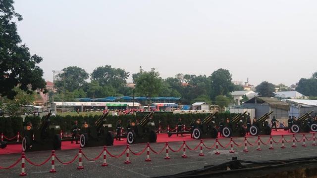 Bắn 21 loạt đại bác chào mừng Chủ tịch Trung Quốc tới Việt Nam - 8