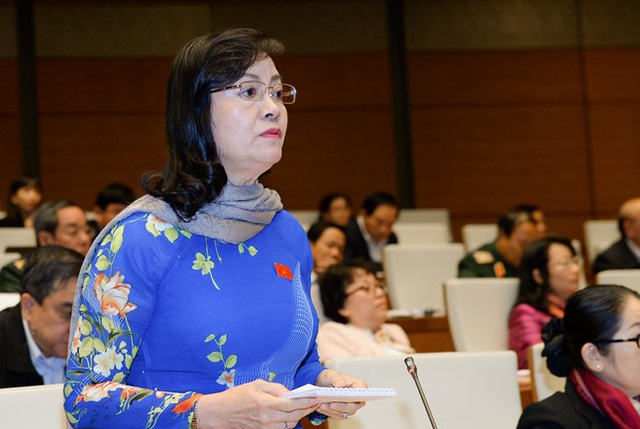 Bà Nguyễn Thị Quyết Tâm - Phó Bí thư Thành ủy TP Hồ Chí Minh