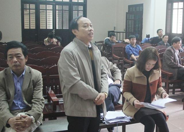 Đại diện Sở GD-ĐT Nghệ An cho rằng việc xét thầu, chấm thầu của Sở diễn ra đúng quy trình, quy định.