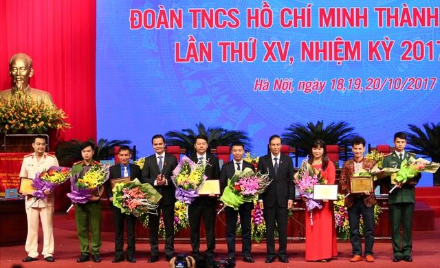 Vinh danh 10 gương mặt trẻ Thủ đô tiêu biểu trong nhiệm kỳ 2012 - 2017
