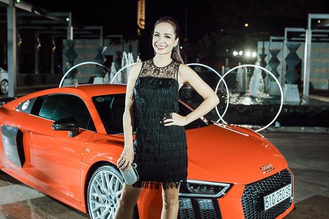 Dàn người đẹp chinh phục trong đêm hội Audi - 11