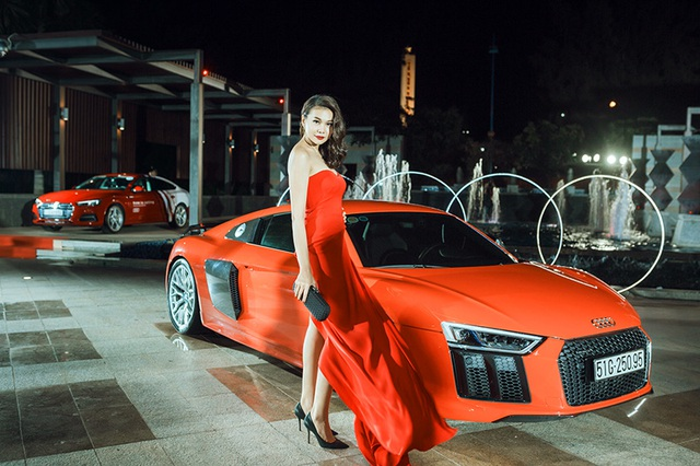 Dàn người đẹp chinh phục trong đêm hội Audi - 9