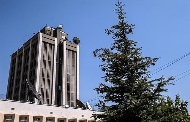 Đại sứ quán Nga tại Damascus, Syria (Ảnh: Tass)