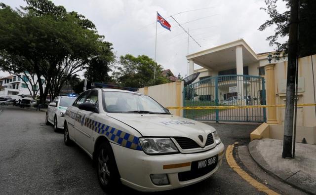 Đại sứ quán Triều Tiên ở Kuala Lumpur. (Ảnh: Reuters)