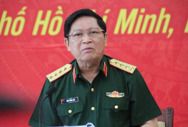 Đại tướng Ngô Xuân Lịch - Bộ trưởng Bộ Quốc phòng