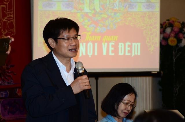 Ông Phan Thanh Hải, GĐ trung tâm bảo tồn di tích cố đô Huế.