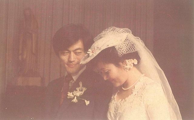 Đám cưới của ông Moon Jae-in và bà Kim Jung-sook (Ảnh: Korea Times)