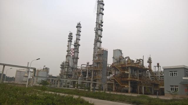 Toàn cảnh nhà máy Phân Đạm Hà Bắc sau khi cải tạo, mở rộng