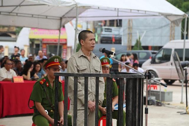 Bị cáo Đào Hữu Thọ tại phiên xử
