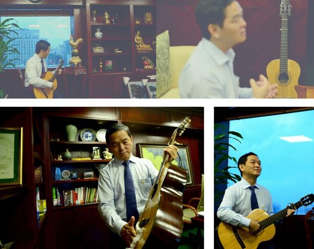 """""""Nhạc trưởng"""" Lê Viết Hải: Điều hành doanh nghiệp bằng... cây đàn guitar - 5"""