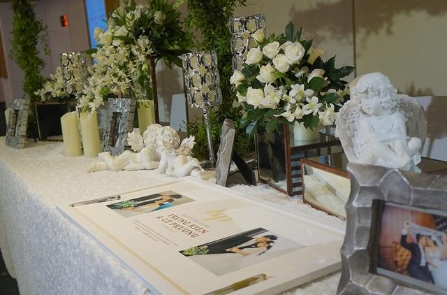 Hình ảnh tiệc cưới sang trọng của Lê Phương tại Sài Gòn - 3