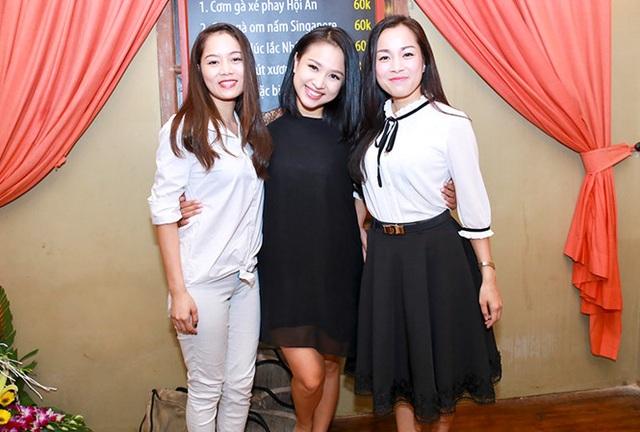 Dàn diễn viên Nhật ký Vàng Anh hội ngộ sau nhiều năm: Minh Hương, Vân Hugo, Linh Phương (từ phải sang trái).