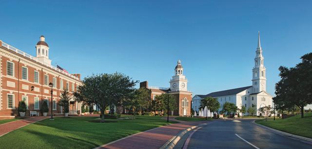 Một trong các trường đại học đối tác của AMVNX tại Texas