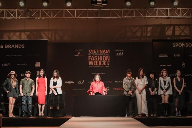 Các nhà thiết kế tiêu biểu trong Vietnam International Fashion Week 2017