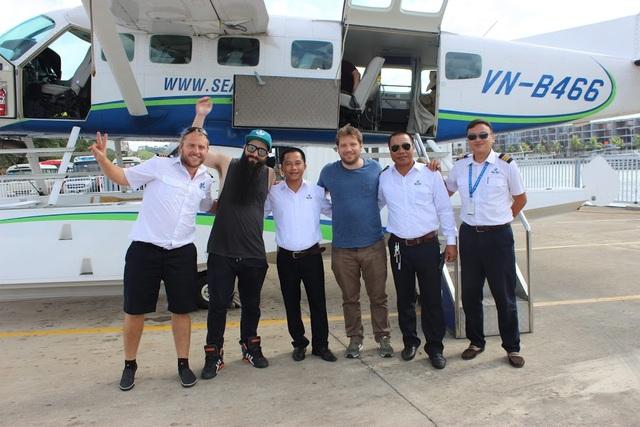 """Đạo diễn phim """"Kong"""" đưa đạo diễn nổi tiếng người Anh thăm Vịnh Hạ Long - 7"""