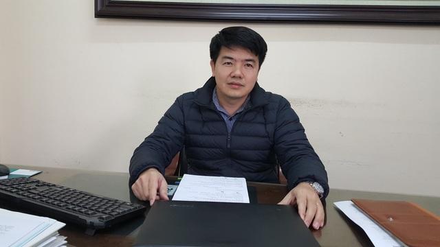 Ông Đào Đức Khánh- Giám đốc Công ty URENCO 10 trao đổi với PV Dân trí.
