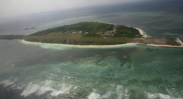 Đảo Thị Tứ thuộc quần đảo Trường Sa của Việt Nam và đang bị Philippines chiếm đóng trái phép. (Ảnh: AFP)